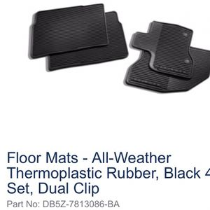 Ford Explorer All Weather Floor Mats for Sale in Henderson, NV