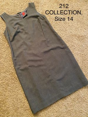 212 COLLECTION, Grey Sleeveless Dress, Size 14 for Sale in Phoenix, AZ