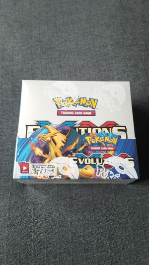 Pokemon evolutions booster box for Sale in Everett, WA