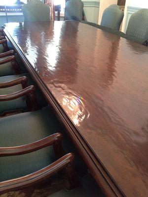 Designers's Grand Estate 16 Foot!!! Solid Wood Dining Room Table. Normally $37,000!!! for Sale in Palm Beach, FL