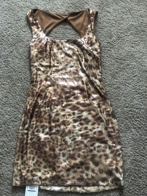 Cache Printed Sequin Dress Size 8 for Sale in Rosedale, MD