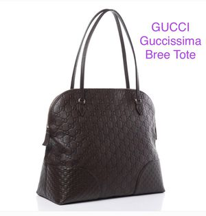Gucci Guccisima Medium Bree Tote (Chocolate Brown) for Sale in Farmington Hills, MI