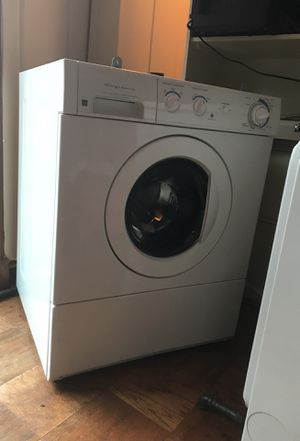 Stackable Frigidaire heavy duty washer and Frigidaire gas Gallery dryer for Sale in Alexandria, VA