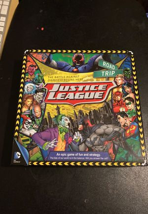 Dc justice league board game for Sale in Rancho Cucamonga, CA