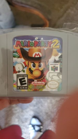 Mario Party 2 N64 for Sale in Rancho Cucamonga, CA
