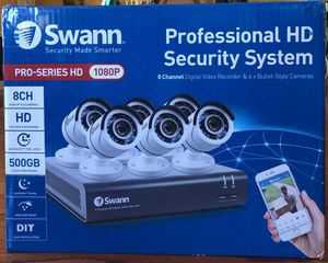 HD Swan Security Camera System BRAND NEW 8 cameras HD for Sale in San Jose, CA