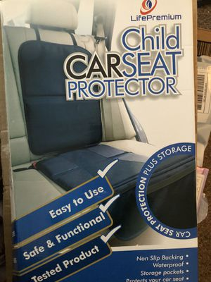 Car seat protector new for Sale in Decatur, AL