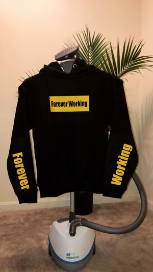 Black & Yellow Forever Working Hoodie for Sale in Glen Burnie, MD