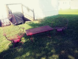 Wrought Iron patio set! Good condition! for Sale in Martinsburg, WV