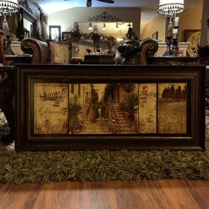 Almost NEW Beautiful and Elegant Huge Picture Frame. for Sale in Fort Worth, TX