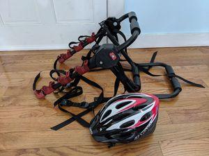 Bell Bike Rack and Bike Helmet for Sale in Boston, MA