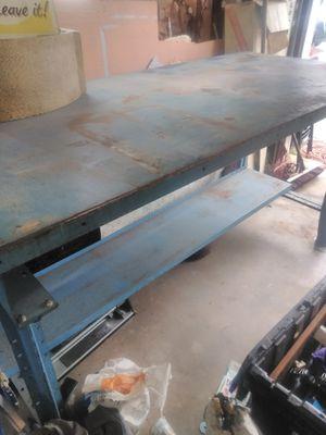 Steel shop table for Sale in Lexington, NC