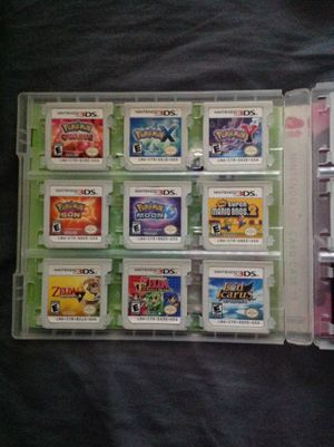 Nintendo 3ds 2ds games for Sale in Fontana, CA