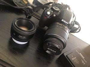 Nikon D3100/ great condition! 2 lenses 💥 for Sale in Miami Gardens, FL