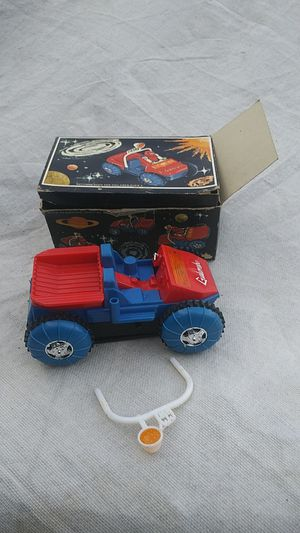 1985, Novatoy Galaxy Robot Transporter and Space buggy. The guy is missing for Sale in Chicago, IL
