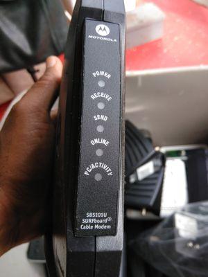 Comcast Cable Modem Motorola for Sale in Port St. Lucie, FL