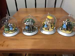 Wizard of Oz glass ornaments for Sale in West Springfield, VA