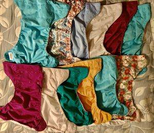Bum Genius Cloth Pocket Diapers for Sale in Raleigh, NC