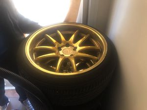 Gold rims for sale for Sale in Silver Spring, MD
