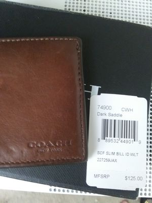 Men's Coach wallet for Sale in Washington, DC