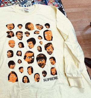 """DS Supreme """"faces""""long sleeve for Sale in Oakland, CA"""