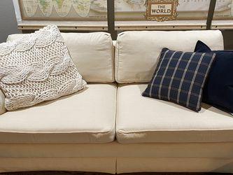 Ivory Henredon couch (76x38) for Sale in Denver,  CO