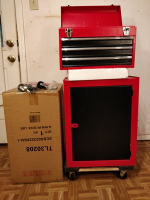 New tool chest / open box tool box never used, 2 pieces with drawers. for Sale in Annandale, VA