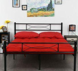 *Used* Full-size Metal Bedframe for Sale in Salt Lake City,  UT