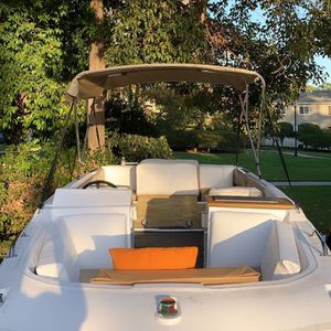 18 Ft Bayliner - Brand new interior Moving Need To sell Trailer Included Clean Title For Both for Sale in San Diego, CA