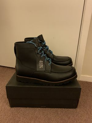 100% Authentic Brand New in Box UGG Agnar Moc Toe Leather Ankle Boots With Lined UGGpure Wool insole / Men size 11 and Men size 12 and Men size 13/ C for Sale in Walnut Creek, CA