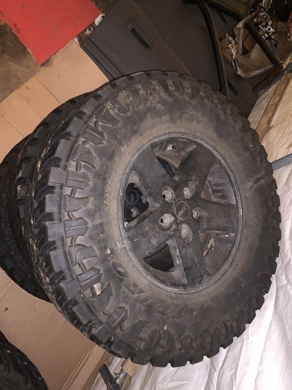 Jeep Wrangler rims