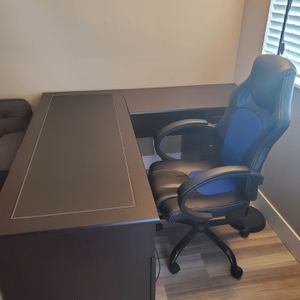 Espresso L Shaped Desk for Sale in Orange, CA