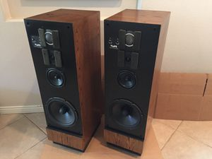 VMPS MiniTower IIa Vintage Audiophile Speakers for Sale in Escondido, CA
