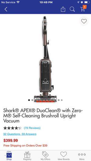 Shark vacuum for Sale in Danbury, CT