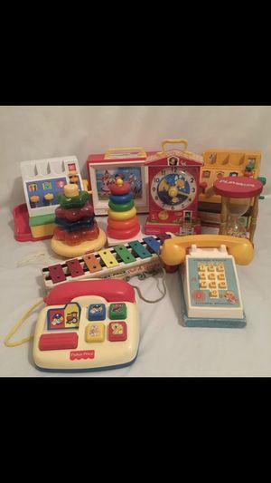 Vintage kids toys fisher price playskool phone music for Sale in Orlando, FL