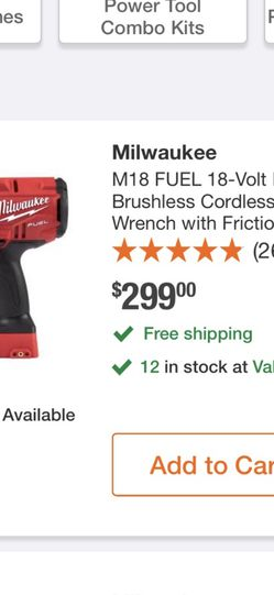 Milwaukee 1/2 Impact Wrench for Sale in Newark,  NJ