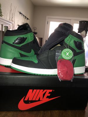 Jordan 1 Retro High Pine Green Black for Sale in Temecula, CA