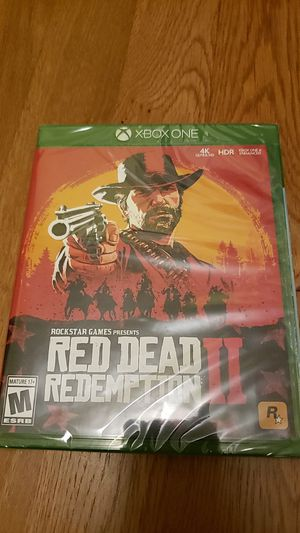 Red dead redemption 2 Xbox one for Sale in Bellevue, WA