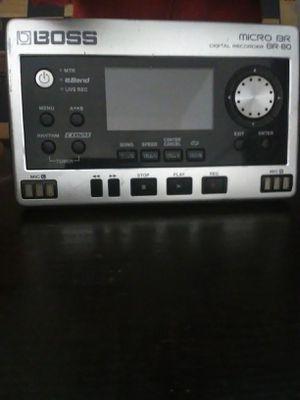 Boss micro br 80 recorder for Sale in Wasco, CA