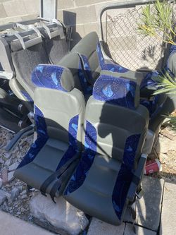 Seats coach bus seats passenger seats recline armrests for Sale in Fort McDowell,  AZ
