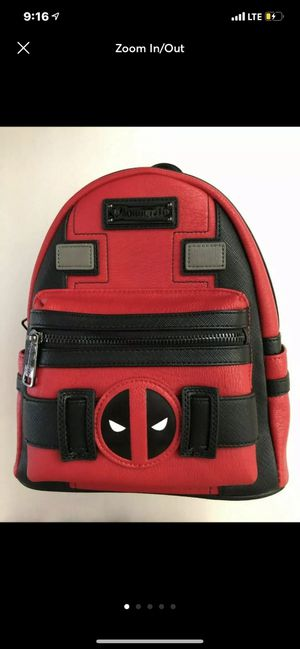 Loungefly Marvel DEADPOOL mini Backpack for Sale in Pinon Hills, CA