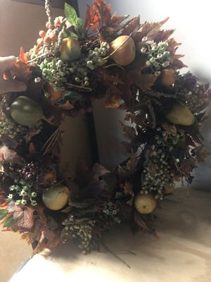 Thanksgiving wreath for Sale in Palmdale, CA