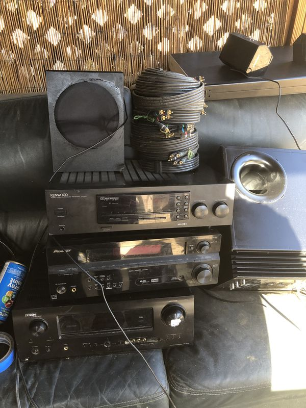 Stereo equipment negotiable prices