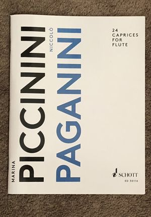 Paganini 24 Caprices For Flute for Sale in Richmond, CA