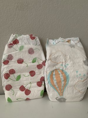 Over 30 newborn diapers for Sale in Manassas, VA