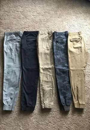 5 Pairs Jogger Pants for Sale in Puyallup, WA