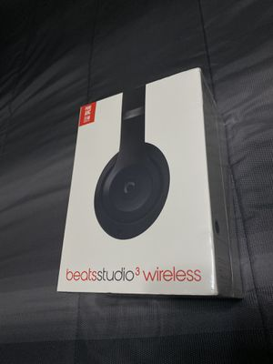 Brand New Sealed Black Beats Studio 3 Wireless Headphones NEW Retail $350 for Sale in Fresno, CA