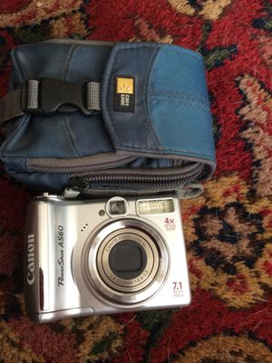 Canon Powershot camera and Canvas case for Sale in Nashville, TN