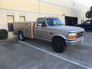 1997 Ford F350 Gas Utility Bed for Sale in Fremont, CA