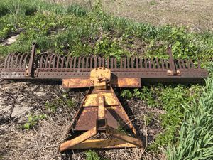 YORK Raje lanscaping Rake 575 new wheels for depth are to be have included 3 point for Sale in Alpena, MI
